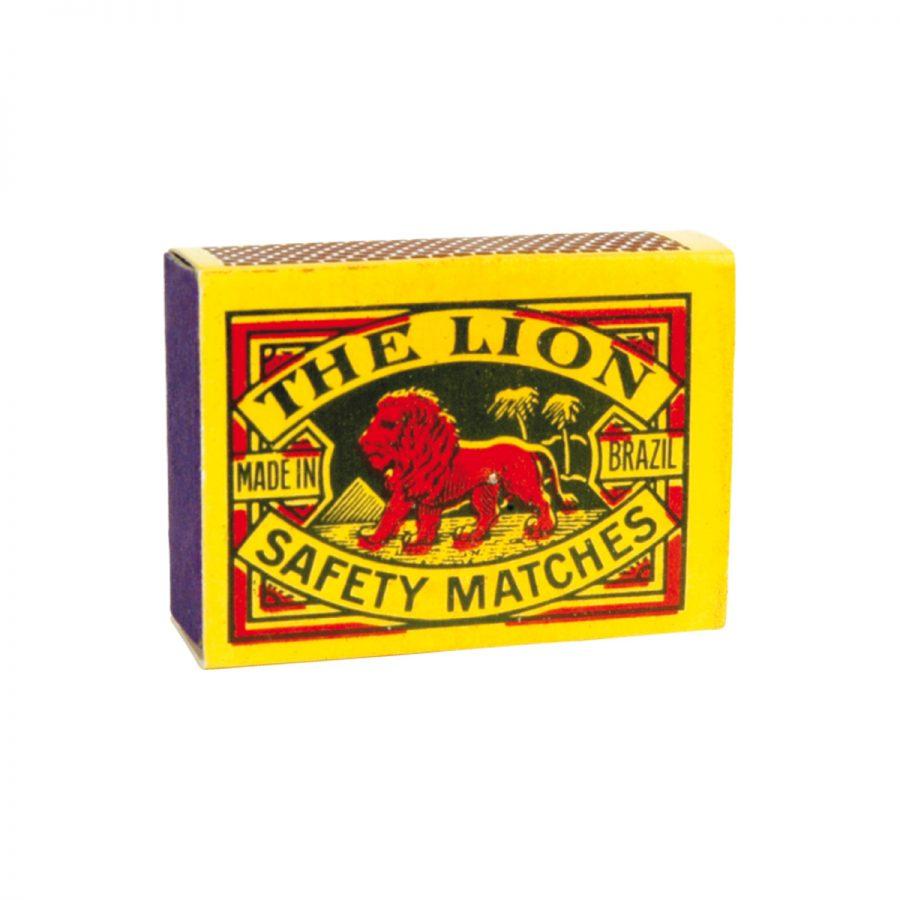 The Lion fósforos