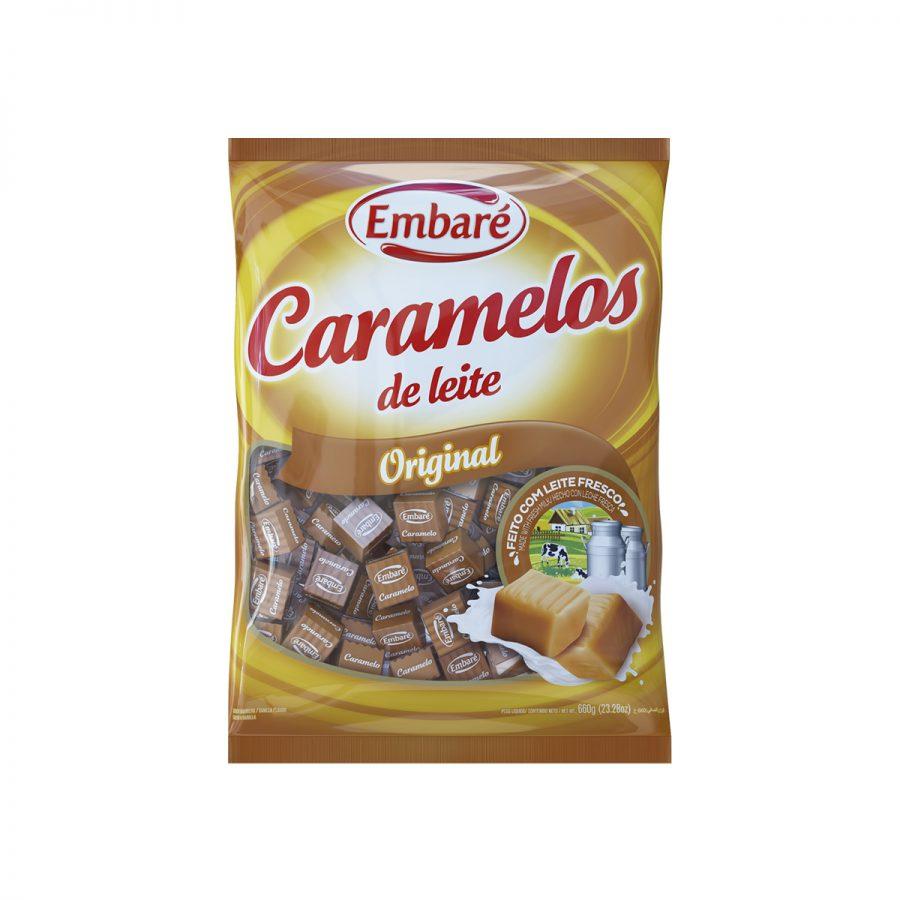 Caramelos Embaré sabor vainilla