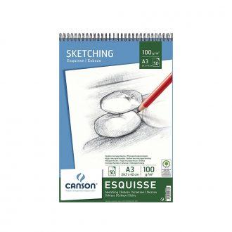 Bloc Sketch Esquisse Canson A4